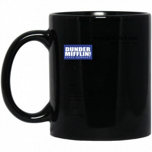 Dwight K. Schrute – Dunder Mifflin Paper Company Mug Apparel