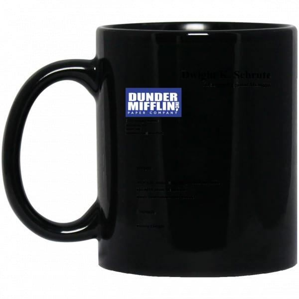 Dwight K. Schrute – Dunder Mifflin Paper Company Mug