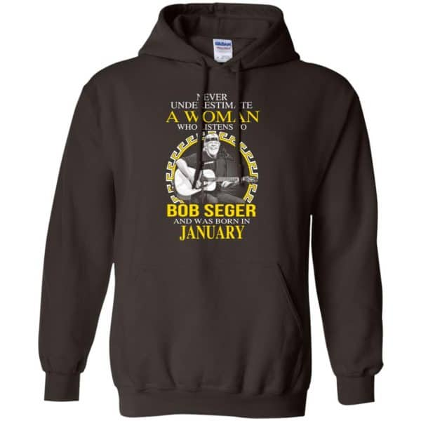 A Woman Who Listens To Bob Seger And Was Born In January T-Shirts, Hoodie, Tank Apparel 9