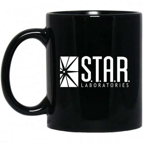 S.T.A.R. Labs Mug – Star Laboratories Black Mug Coffee Mugs