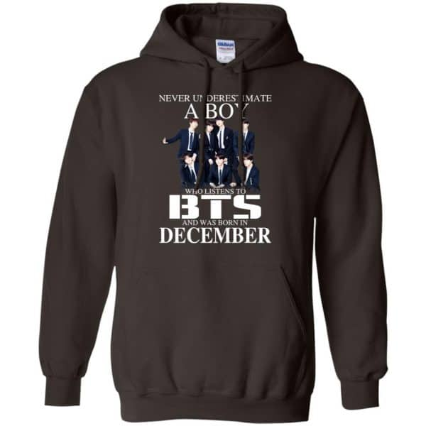 A Boy Who Listens To BTS And Was Born In December T-Shirts, Hoodie, Tank