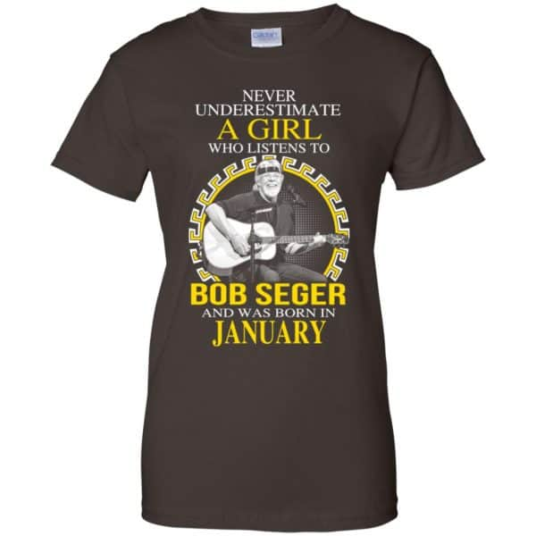 A Girl Who Listens To Bob Seger And Was Born In January T-Shirts, Hoodie, Tank Apparel 12