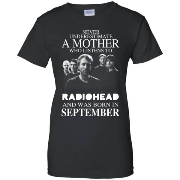 A Mother Who Listens To Radiohead And Was Born In September T-Shirts, Hoodie, Tank Apparel