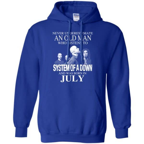 An Old Man Who Listens To System Of A Down And Was Born In July T-Shirts, Hoodie, Tank Apparel 12