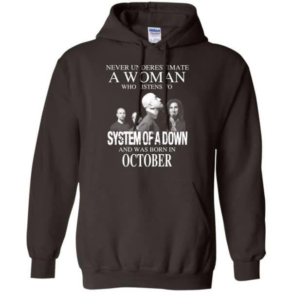 A Woman Who Listens To System Of A Down And Was Born In October T-Shirts, Hoodie, Tank Apparel 9
