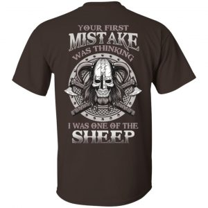 Your First Mistake Was Thinking I Was One Of The Sheep T-Shirts, Hoodie, Tank Apparel 2