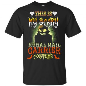 This Is My Scary Rural Mail Carrier Costume Halloween T-Shirts, Hoodie, Tank Apparel