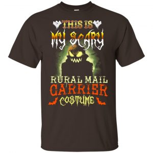 This Is My Scary Rural Mail Carrier Costume Halloween T-Shirts, Hoodie, Tank Apparel 2