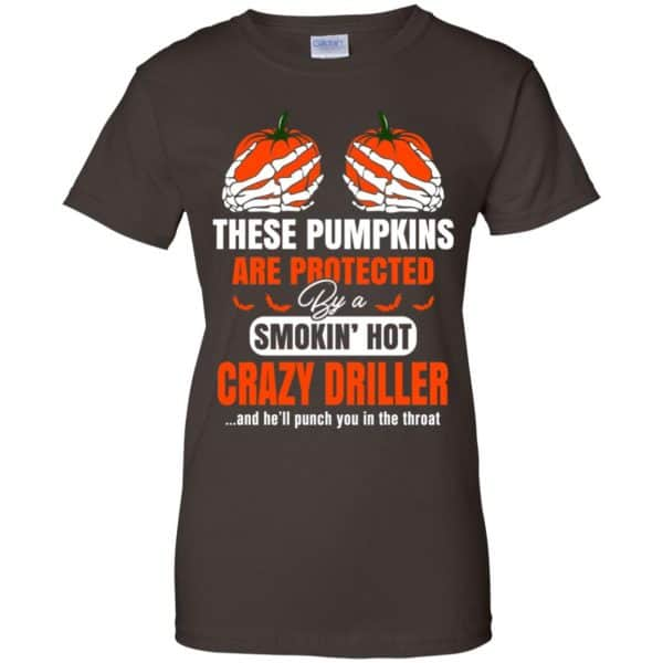 These Pumpkins Are Protected By A Smoking Hot Crazy Driller T-Shirts, Hoodie, Tank Apparel 12