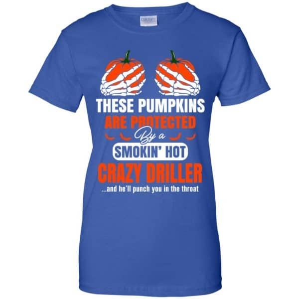 These Pumpkins Are Protected By A Smoking Hot Crazy Driller T-Shirts, Hoodie, Tank Apparel 14
