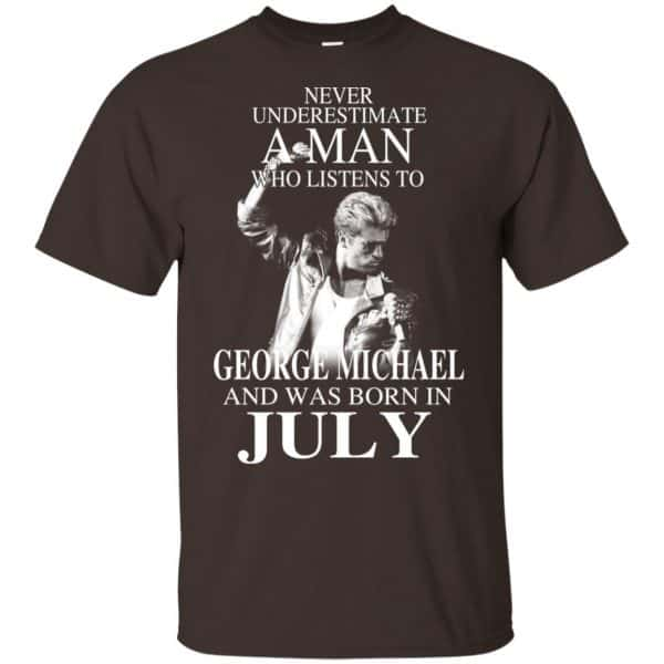 A Man Who Listens To George Michael And Was Born In July T-Shirts, Hoodie, Tank Apparel 6