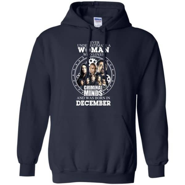 Never Underestimate A Woman Who Loves Criminal Minds And Was Born In December T-Shirts, Hoodie, Tank Apparel 8
