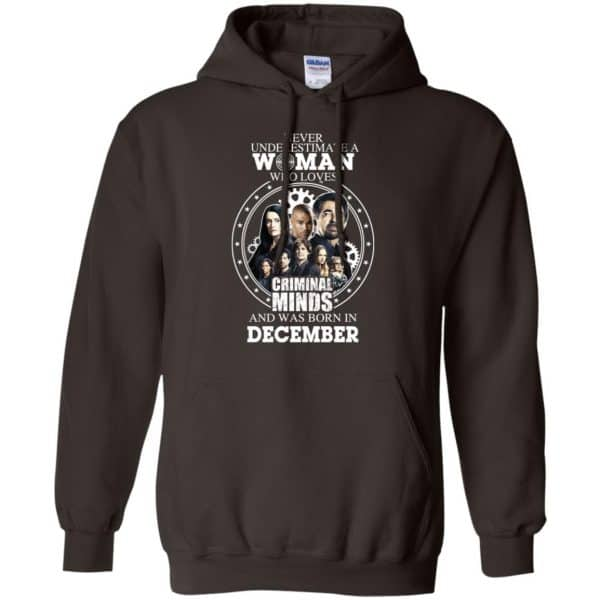 Never Underestimate A Woman Who Loves Criminal Minds And Was Born In December T-Shirts, Hoodie, Tank Apparel 9