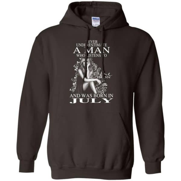 A Man Who Listens To Céline Dion And Was Born In July T-Shirts, Hoodie, Tank Animals Dog Cat 11