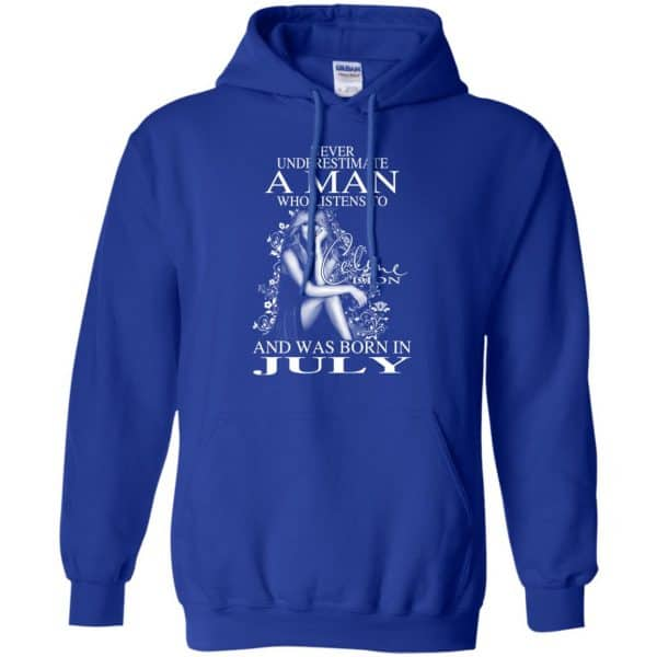 A Man Who Listens To Céline Dion And Was Born In July T-Shirts, Hoodie, Tank Animals Dog Cat 12