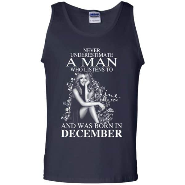A Man Who Listens To Céline Dion And Was Born In December T-Shirts, Hoodie, Tank Animals Dog Cat 14