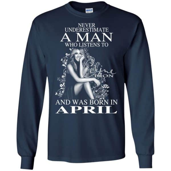 A Man Who Listens To Céline Dion And Was Born In April T-Shirts, Hoodie, Tank Animals Dog Cat 8