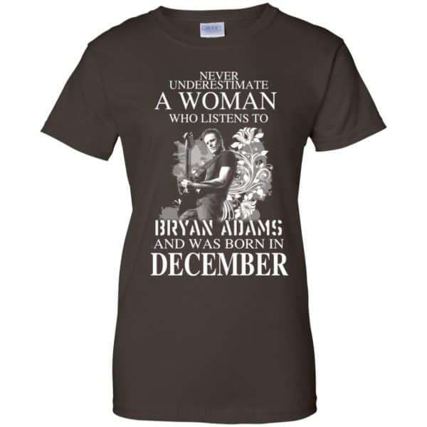 Never Underestimate A Woman Who Listens To Bryan Adams And Was Born In December T-Shirts, Hoodie, Tank Animals Dog Cat 12