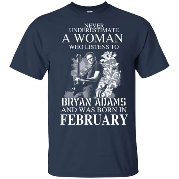 Never Underestimate A Woman Who Listens To Bryan Adams And Was Born In February T-Shirts, Hoodie, Tank Animals Dog Cat 6