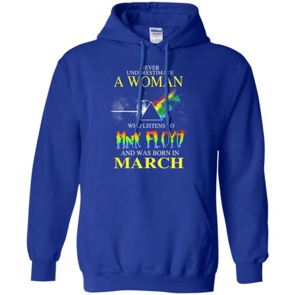 A Woman Who Listens To Pink Floyd And Was Born In March T-Shirts, Hoodie, Tank Animals Dog Cat 10