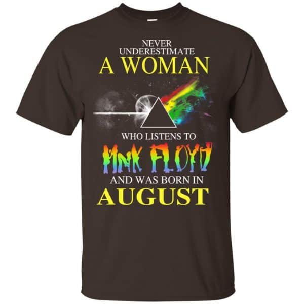A Woman Who Listens To Pink Floyd And Was Born In August T-Shirts, Hoodie, Tank Animals Dog Cat 4
