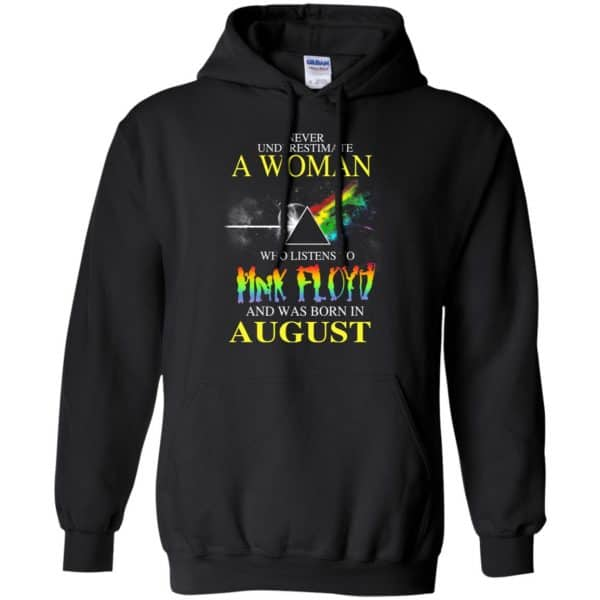 A Woman Who Listens To Pink Floyd And Was Born In August T-Shirts, Hoodie, Tank Animals Dog Cat 7