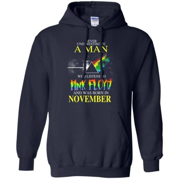 Never Underestimate A Man Who Listens To Pink Floyd And Was Born In November T-Shirts, Hoodie, Tank Animals Dog Cat 10