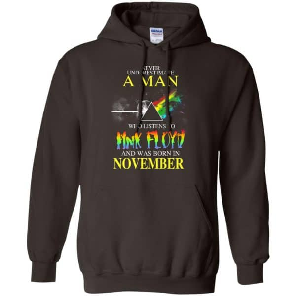 Never Underestimate A Man Who Listens To Pink Floyd And Was Born In November T-Shirts, Hoodie, Tank Animals Dog Cat 11