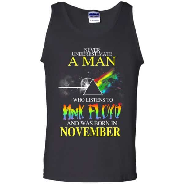 Never Underestimate A Man Who Listens To Pink Floyd And Was Born In November T-Shirts, Hoodie, Tank Animals Dog Cat 13