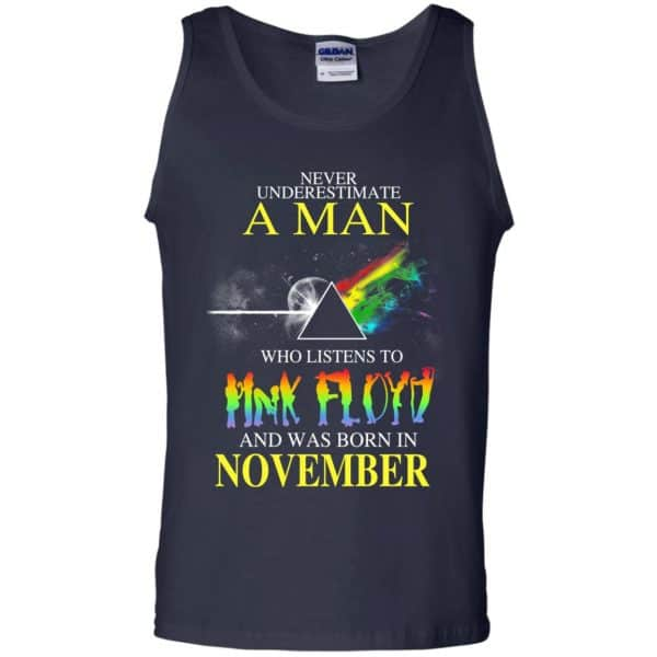Never Underestimate A Man Who Listens To Pink Floyd And Was Born In November T-Shirts, Hoodie, Tank Animals Dog Cat 14