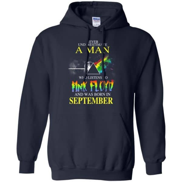 Never Underestimate A Man Who Listens To Pink Floyd And Was Born In September T-Shirts, Hoodie, Tank Animals Dog Cat 10