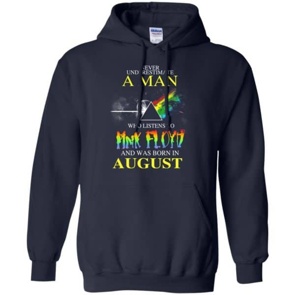 Never Underestimate A Man Who Listens To Pink Floyd And Was Born In August T-Shirts, Hoodie, Tank Animals Dog Cat 10
