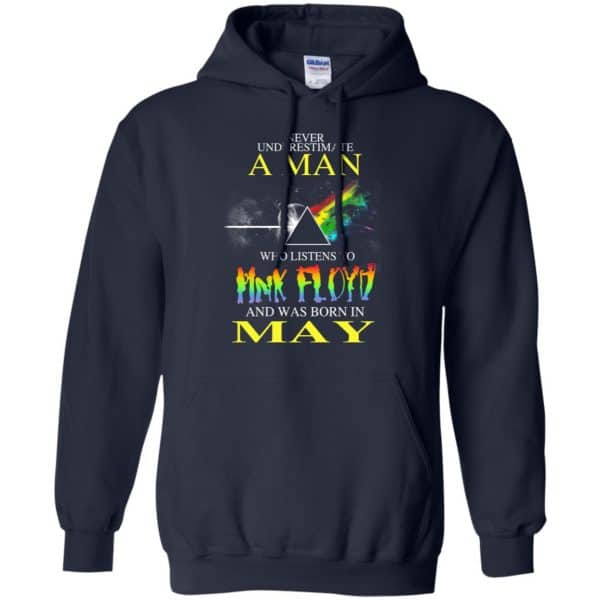 Never Underestimate A Man Who Listens To Pink Floyd And Was Born In May T-Shirts, Hoodie, Tank Animals Dog Cat 10