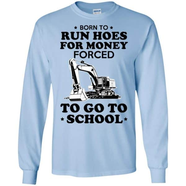 Born To Run Hoes For Money Forced To Go To School Youth T-Shirts, Hoodie, Tank Animals Dog Cat 8