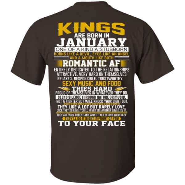 Kings Are Born In January One Of A Kind A Stubborn T-Shirts, Hoodie, Tank Apparel 4