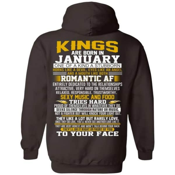 Kings Are Born In January One Of A Kind A Stubborn T-Shirts, Hoodie, Tank Apparel 9