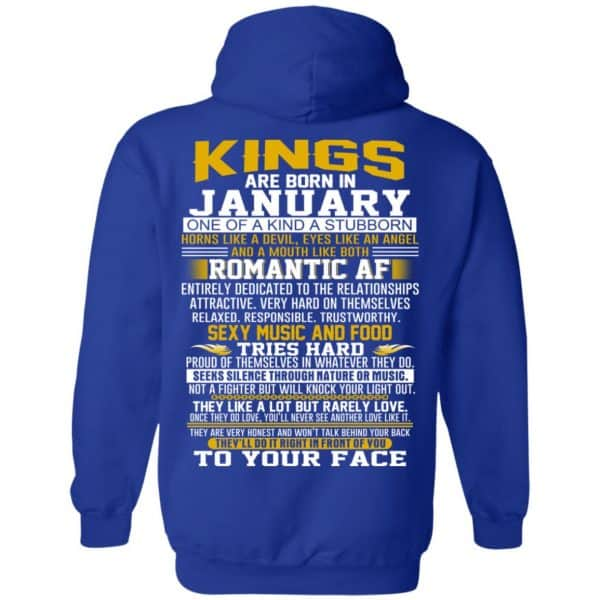 Kings Are Born In January One Of A Kind A Stubborn T-Shirts, Hoodie, Tank Apparel 10