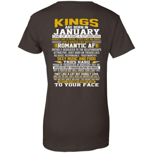 Kings Are Born In January One Of A Kind A Stubborn T-Shirts, Hoodie, Tank Apparel 12