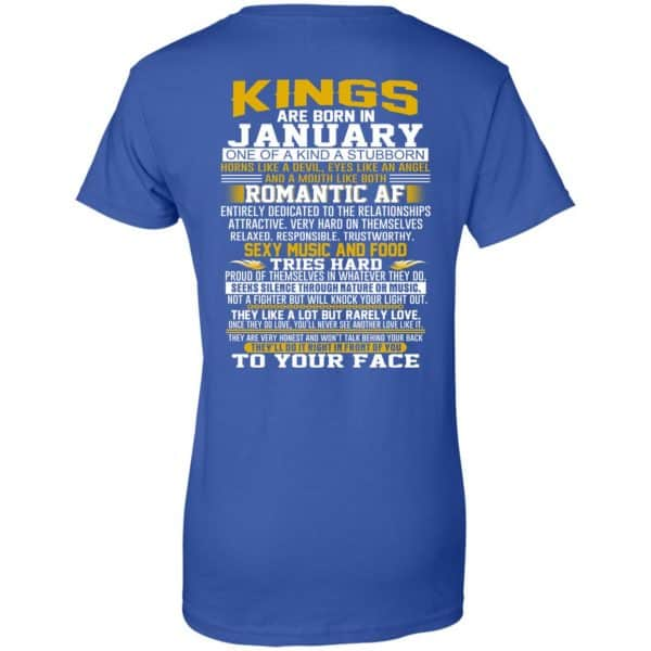 Kings Are Born In January One Of A Kind A Stubborn T-Shirts, Hoodie, Tank Apparel 14
