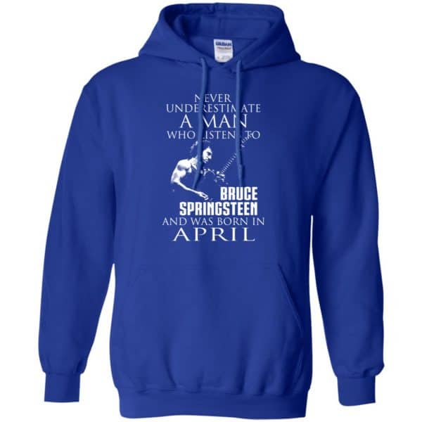 A Man Who Listens To Bruce Springsteen And Was Born In April T-Shirts, Hoodie, Tank Animals Dog Cat 10