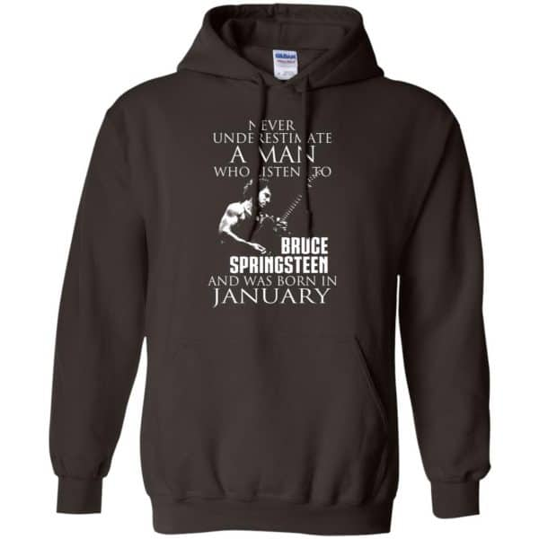 A Man Who Listens To Bruce Springsteen And Was Born In January T-Shirts, Hoodie, Tank Animals Dog Cat 9