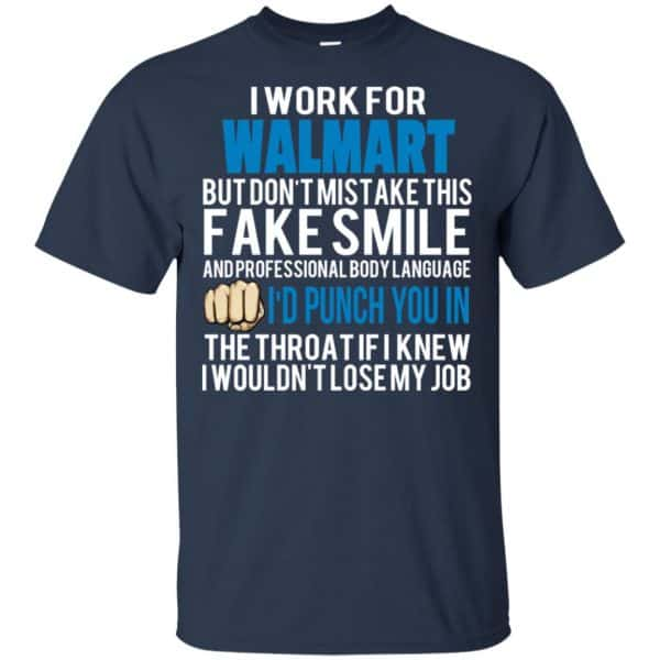 I Work For Walmart But Don't Mistake This Fake Smile T-Shirts, Hoodie, Tank Animals Dog Cat 6