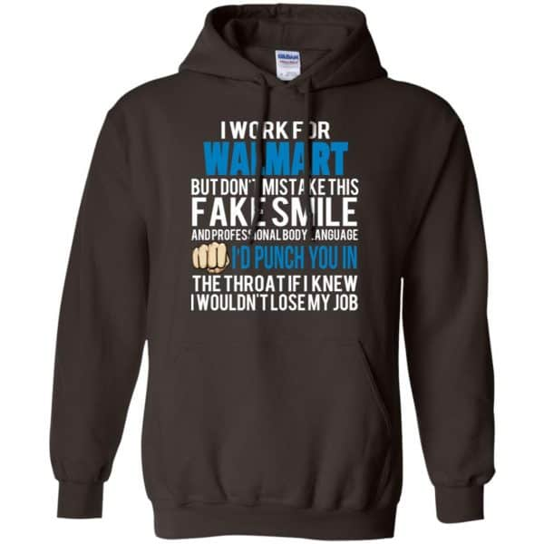 I Work For Walmart But Don't Mistake This Fake Smile T-Shirts, Hoodie, Tank Animals Dog Cat 9