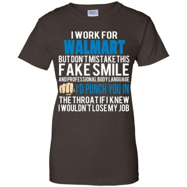I Work For Walmart But Don't Mistake This Fake Smile T-Shirts, Hoodie, Tank Animals Dog Cat 12