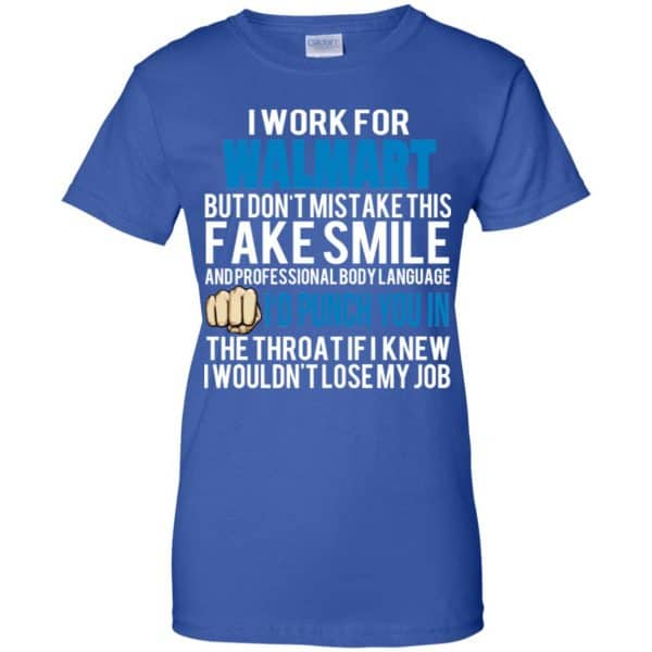 I Work For Walmart But Don't Mistake This Fake Smile T-Shirts, Hoodie, Tank Animals Dog Cat 14