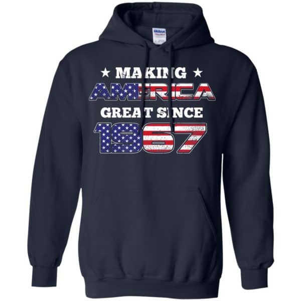 Making America Great Since 1967 52nd Birthday T-Shirts, Hoodie, Tank Apparel