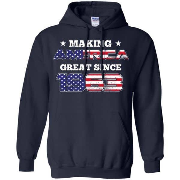 Making America Great Since 1963 56Th Birthday T-Shirts, Hoodie, Tank Apparel