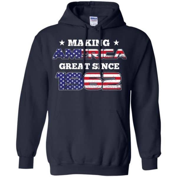 Making America Great Since 1962 57Th Birthday T-Shirts, Hoodie, Tank Apparel