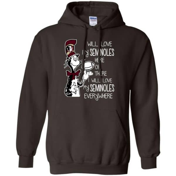 Florida State Seminoles: I Will Love Seminoles Here Or There I Will Love My Seminoles Everywhere T-Shirts, Hoodie, Tank Apparel 9
