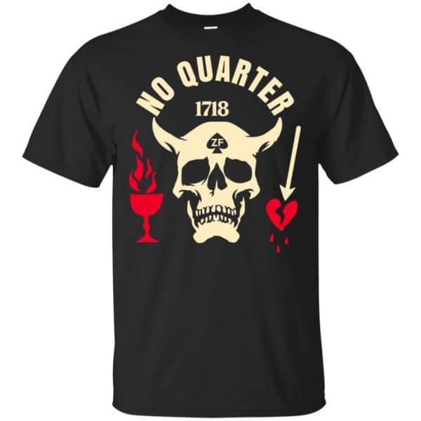 Black Beard No Quarter 1718 T-Shirts, Hoodie, Tank Apparel 3